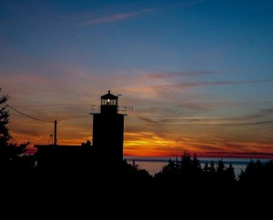 Sunset at Point Prim Lighthouse