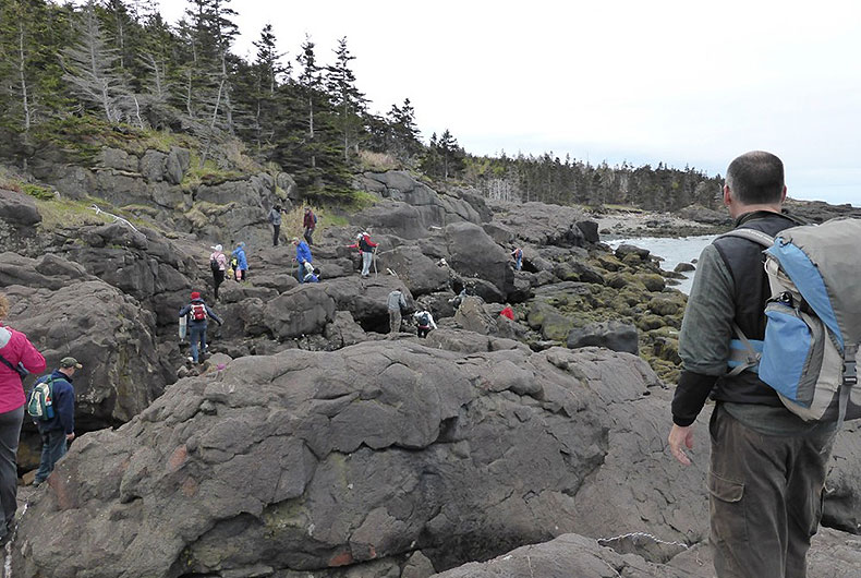 Hiking the Fundy Shoreline