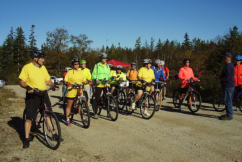 Tour de New France bicycle race